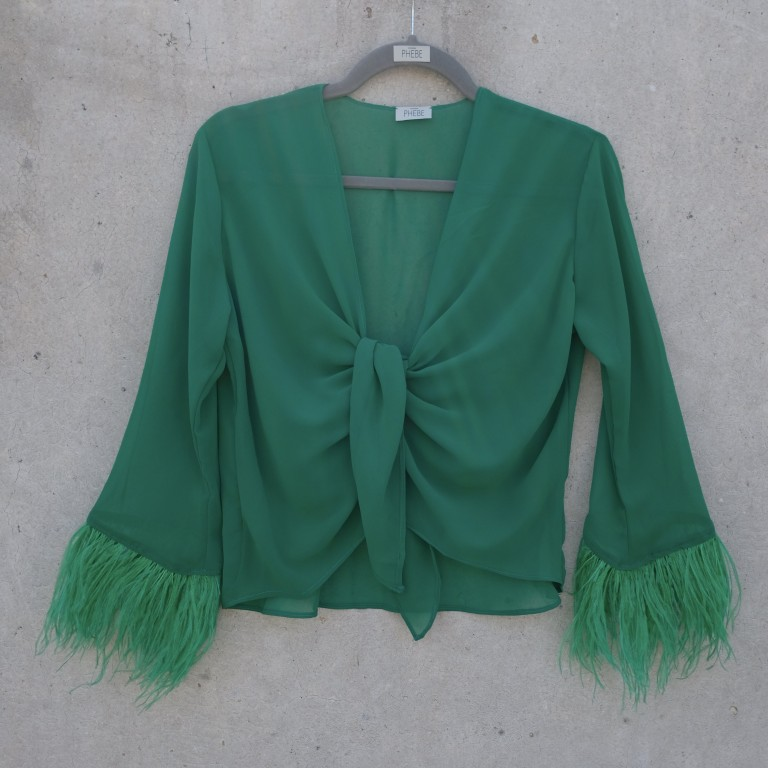 JANE FEATHERS BLOUSE
